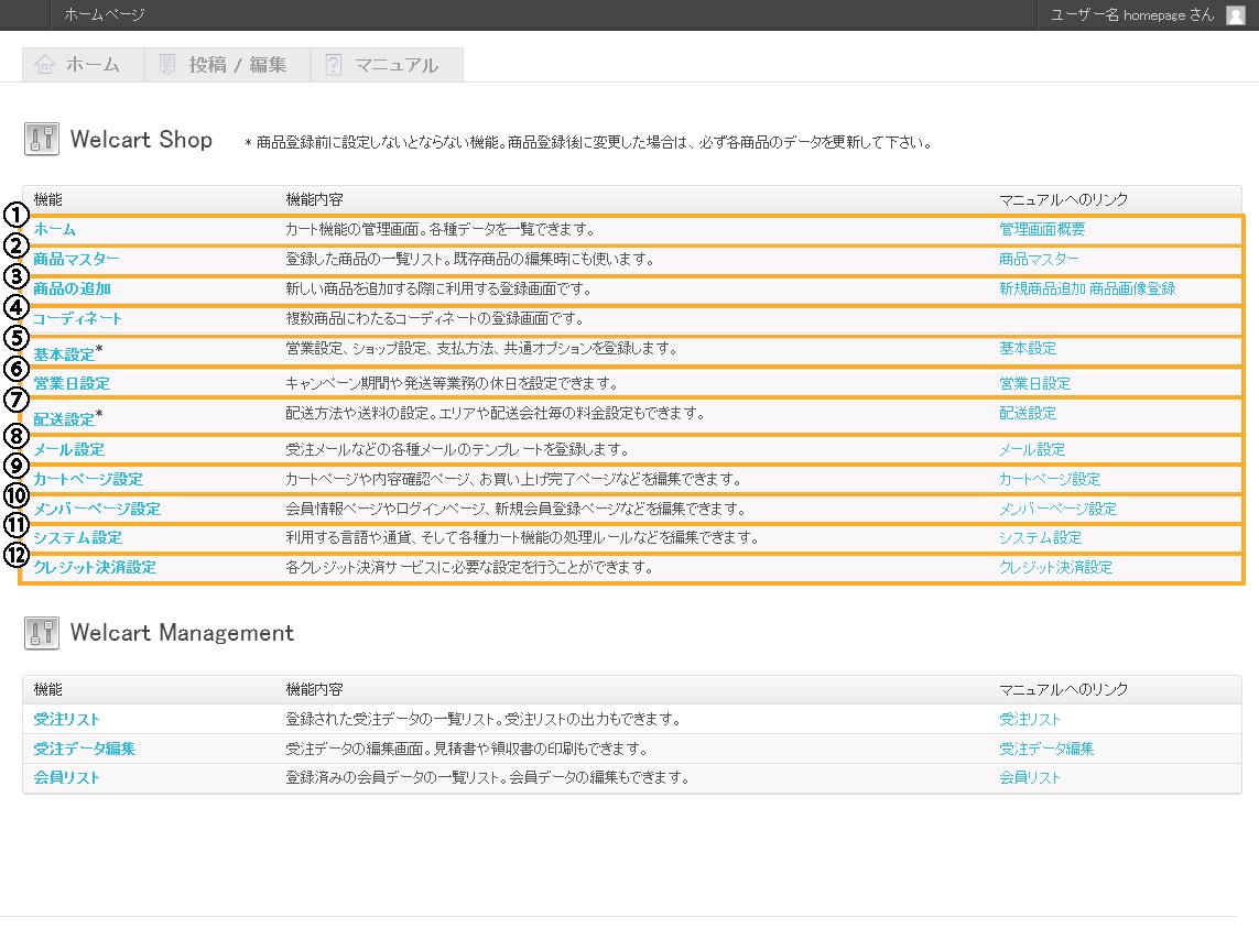 カート[EC]機能 ショップ | 初期費用無料ホームページ作成サイト - FunMaker